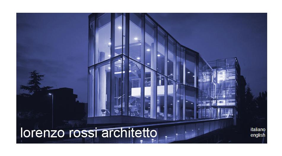 Website Showcase - Lorenzo Rossi Architetto